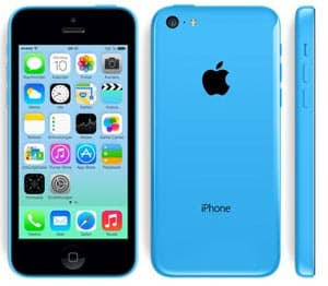 Apple iPhone 5c in blau