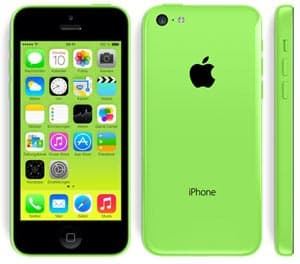 Apple iPhone 5c in grün