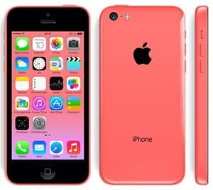 Apple iPhone 5c in pink