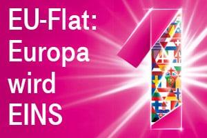 Telekom EU-Flat für MagentaEINS Kunden (Europa wird 1)