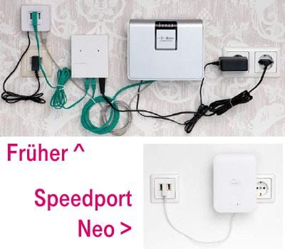 Kein Kabelsalat mehr mit dem Telekom Speedport Neo