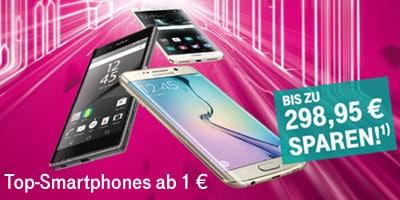 Telekom MagentaMobil Tarife mit Top-Smartphones ab 1 €