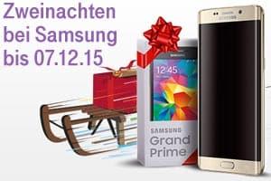 Samsung Aktion Zweinachten: gratis 2. Handy zu S6-Modellen