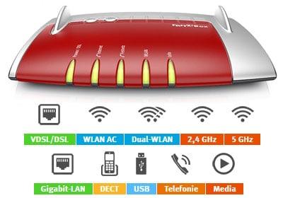 AVM FritzBox 7490 - hier günstig mit Telekom Vertrag