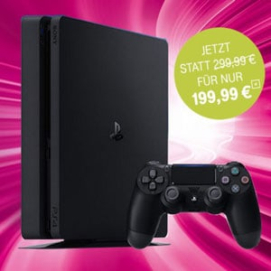 Sony PS4 Slim (PlayStation 4 Slim) bei Telekom