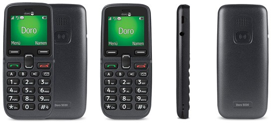 Doro 5030 mit Telekom Vertrag (MagentaMobil Tarife)