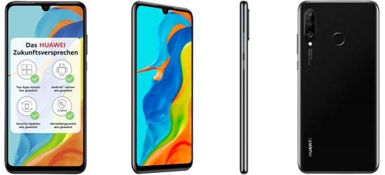 Huawei P30 lite NE mit Telekom Vertrag (MagentaMobil Tarife)