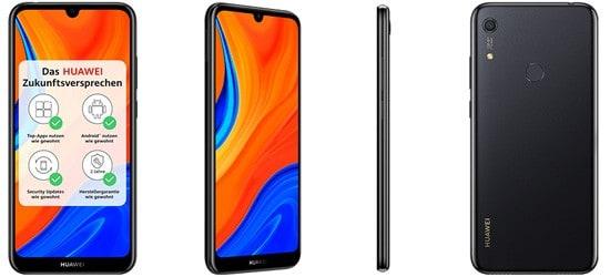 Huawei Y6s günstig mit Telekom Vertrag (MagentaMobil Tarife)