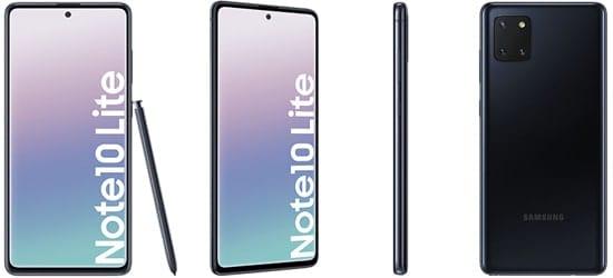 Samsung Galaxy Note 10 Lite – günstig mit Telekom MagentaMobil Tarif