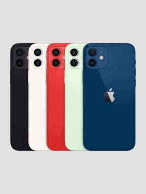 Telekom - Apple iPhone 12 - alle Farben (Ansicht hinten)