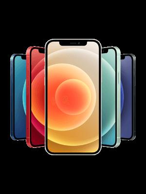 Telekom - Apple iPhone 12 - alle Farben (Ansicht vorne)