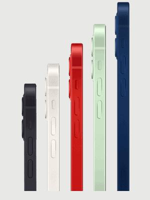 Telekom - Apple iPhone 12 - alle Farben (Ansicht seitlich)