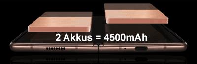 Akku des Samsung Galaxy Z Fold2 5G