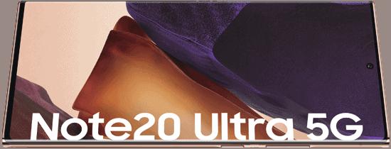 Display vom Samsung Galaxy Note20 Ultra 5G