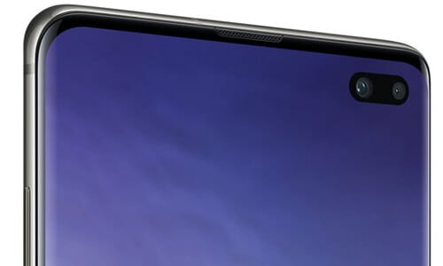 Display vom Samsung Galaxy S10+