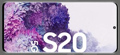 Display vom Samsung Galaxy S20 5G