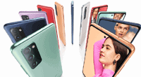 Farbauswahl beim Samsung Galaxy S20 Fan Edition