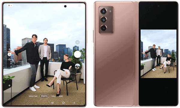 Kamera des Samsung Galaxy Z Fold2 5G