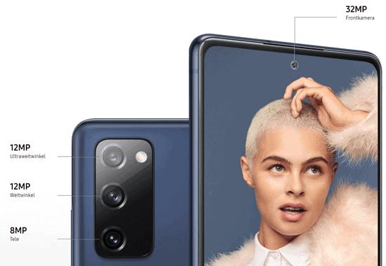 Kamera vom Samsung Galaxy S20 Fan Edition