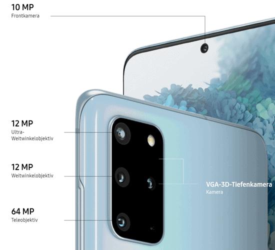 Kamera vom Samsung Galaxy S20 Plus 5G - S20+
