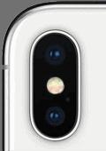 Kamera vom Apple iPhone X