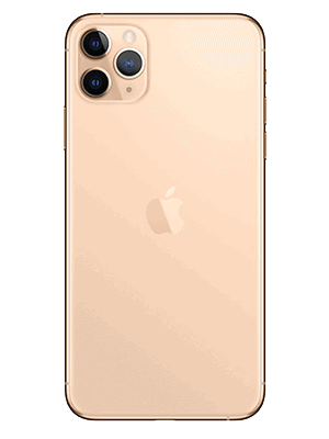 Telekom - Apple iPhone 11 Pro Max - gold / hinten