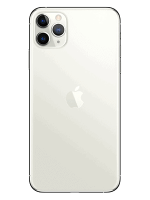 Telekom - Apple iPhone 11 Pro Max - silber / hinten