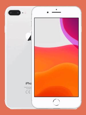 Telekom - Apple iPhone 8 Plus - weiss / silber