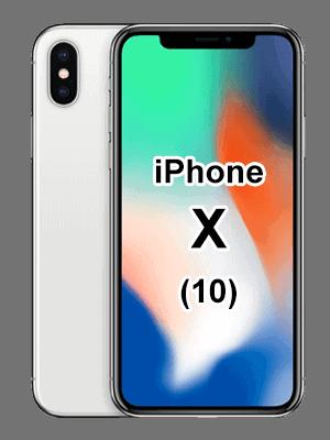 Telekom - Apple iPhone X - silber