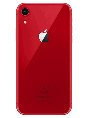 Telekom - Apple iPhone XR - rod (product red) / hinten
