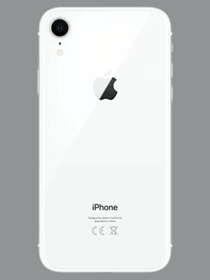 Telekom - Apple iPhone XR - weiß / hinten
