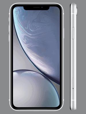 Telekom - Apple iPhone XR - weiß / seitlich