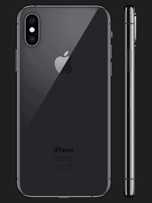 Telekom - Apple iPhone XS - schwarz (spacegrau) / hinten