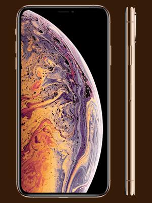 Telekom - Apple iPhone XS Max - gold / seitlich
