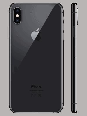 Telekom - Apple iPhone XS Max - schwarz / hinten