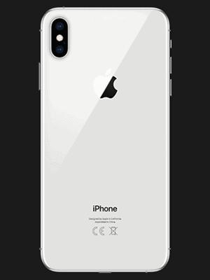 Telekom - Apple iPhone XS Max - weiß / hinten