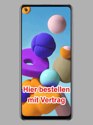 Telekom - Samsung Galaxy A21s - hier bestellen