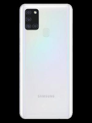 Telekom - Samsung Galaxy A21s - weiß / white (hinten)