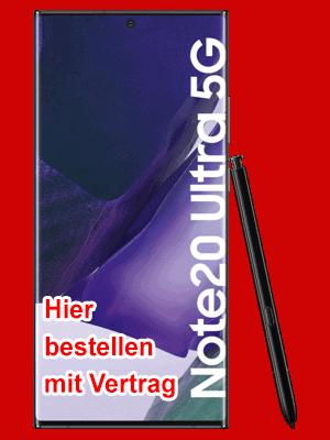Telekom - Samsung Galaxy Note20 Ultra 5G - hier bestellen