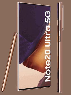 Telekom - Samsung Galaxy Note20 Ultra 5G - kupfer / mystic bronze