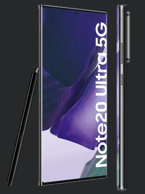 Telekom - Samsung Galaxy Note20 Ultra 5G - schwarz / mystic black