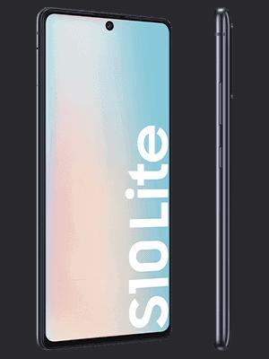 Telekom - Samsung Galaxy S10 lite - schwarz / prism black (seitlich)