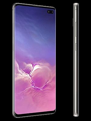 Telekom - Samsung Galaxy S10+ - schwarz / ceramic black (seitlich)