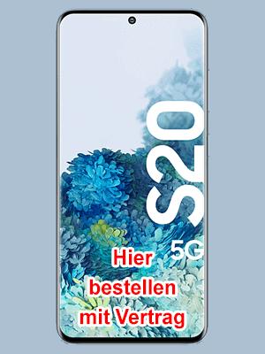 Telekom - Samsung Galaxy S20 5G hier bestellen