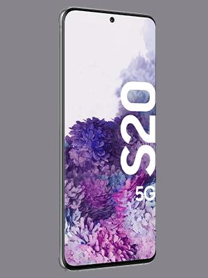 Telekom - Samsung Galaxy S20 5G - seitlich