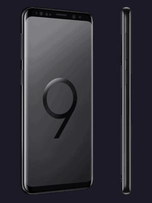 Telekom - Samsung Galaxy S9 - schwarz (seitlich)