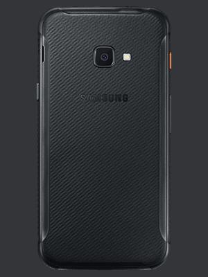 Telekom - Samsung Galaxy XCover 4s - schwarz / hinten