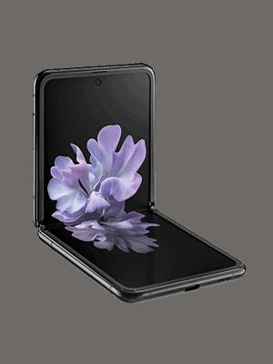 Telekom - Samsung Galaxy Z Flip - geklappt (seitlich)