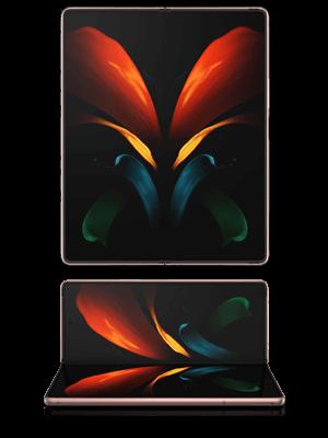 Telekom - Samsung Galaxy Z Fold2 5G - aufgeklappt