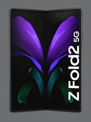 Telekom - Samsung Galaxy Z Fold2 5G - schwarz / innen